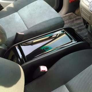 ★ Toyota Estima 50 Black Center Console Storage Box ★