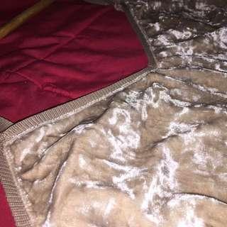 Faux Velvet Nude Mid Thigh Dress