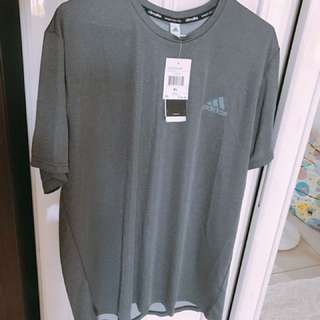 Adidas 灰色上衣