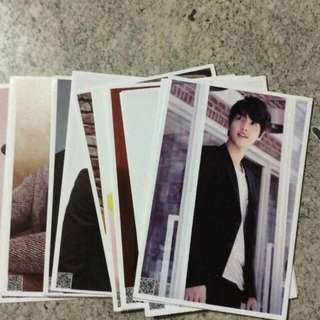 SONG JOONG KI POSTCARDS