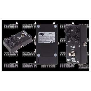 NUX AS-4 Amplifier Simulator Guitar Electric Effect Pedal True Bypass Black