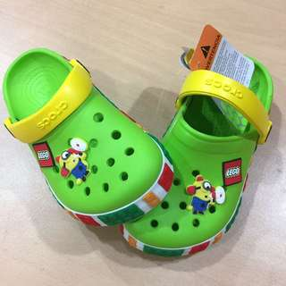 [READY STOCK] CROCS LEGO Hole Sandal
