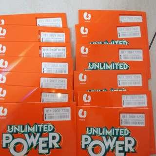 U mobile UNLIMITED POWER SIM CARD