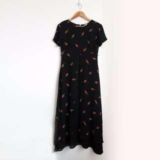 Long Tulip Layered Dress