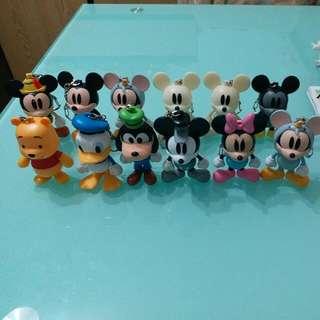 7仔Mickey鎖匙扣系列