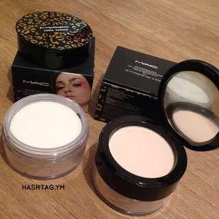 Mac leopard matte Foundation And Loose Powder