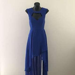No Brand Dress - Royal Blue Asymmetrical