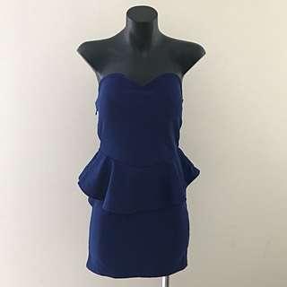 No Brand Dress - Royal Blue