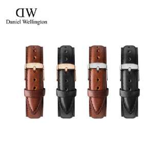 Authentic Daniel Wellington Leather Strap 20mm Or 18mm For Dw Watches 40mm Or 36mm