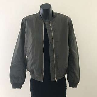 Ally Fashion Jacket - Army Green With Gold Details