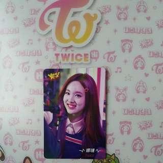 Twice Signal 最新專輯yes card ~ 娜璉