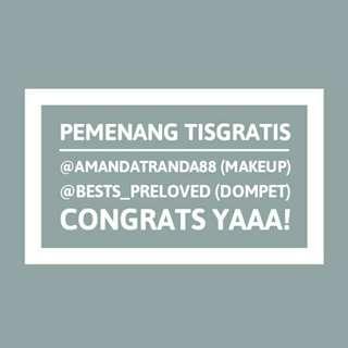 Pemenang #tisgratis