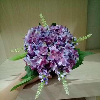 Artificial purple Hydrangea Import