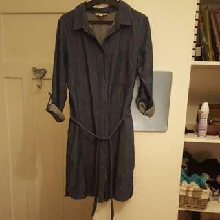 Casual Denim Dress Size 10