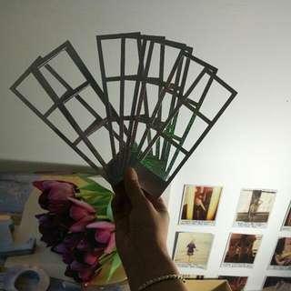 Typo Holographic Photo Strips