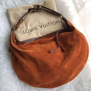 Authentic Louis Vuitton Limited Edition Onatah Suede
