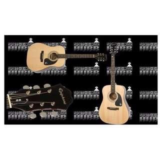 Epiphone DR-100 Dreadnaught Acoustic Guitar (Natural)