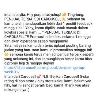 Thanks Carousell