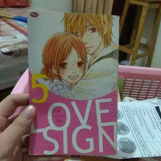 Comic Love Sign Vol. 5