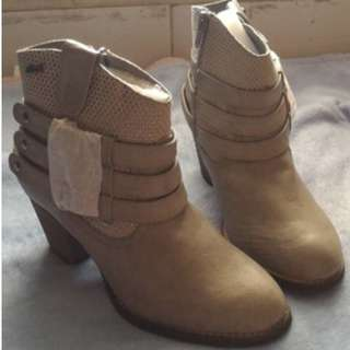 Bootie Wedges GOSH Grey