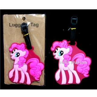 MLP MY LITTLE PONY PINKIE PIE LUGGAGE BAG TAG