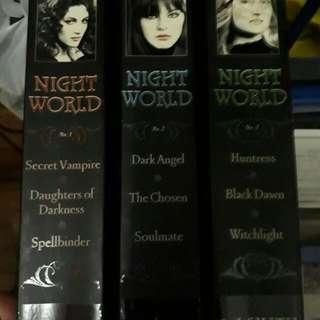 Nightworld Series By L.J. Smith Books 1-9