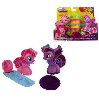 MLP MY LITTLE PONY PLAY CLAY DOH DOUGH TOY FIGURES SET