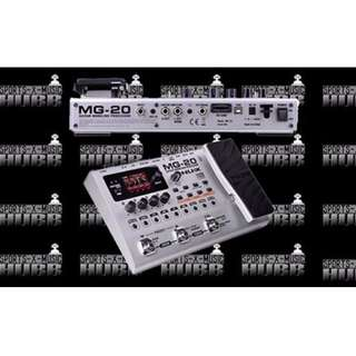 NUX MG-20 Floor Guitar Modeling Processor (Silver)