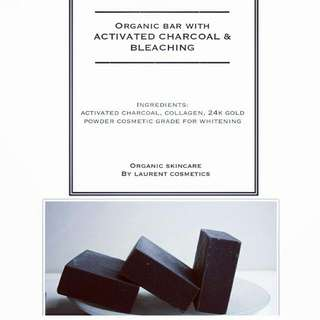 LAURENT Whitening Charcoal Soap