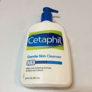 Cetaphil Gentle Skin Cleanser 舒特膚 溫和潔膚乳 20oz