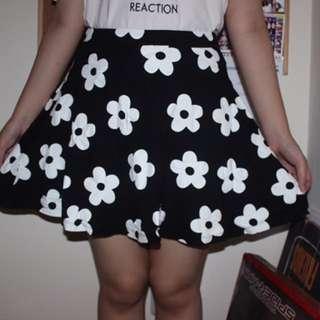 Floral Daisy Skirt