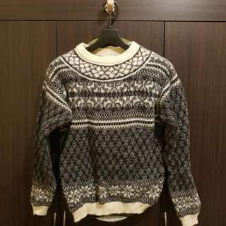 Benetton Wool Winter Sweater - Small