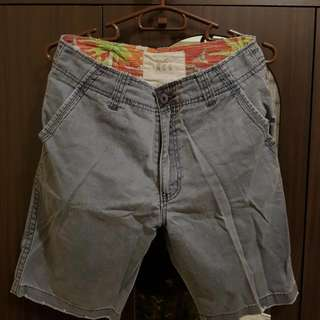 Hollister Co. Faded Style Blue Shorts - Waistline 30