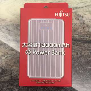 Fujitsu 1300mAh 隨身充 充電寶 Power Bank