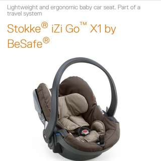 Stokke Light Weight Car Seat For Immediate Sale