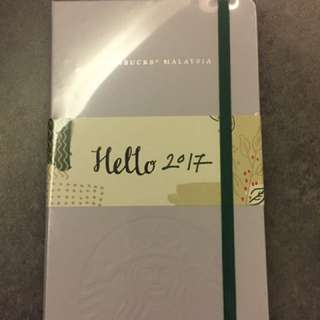 Starbucks Planner By Moleskins- New!