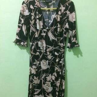 SALE!!! Dress Flower Black