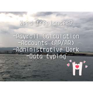 Finding Freelance Accounting/ Payroll Servicds