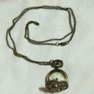 Vintage Watch Necklace