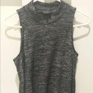Plain Grey Jane Top