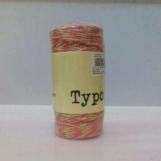 Typo 幼麻繩
