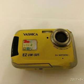 三米防水數碼相機Yashica EZuw-505
