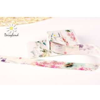 Land of Peach Blossoms Washi Tape #85
