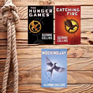 FREE! The Hunger Games Trilogy by Suzanne Collins (Ebook)