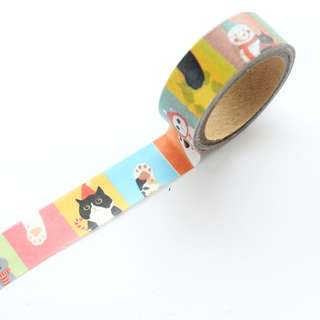 Colourblock Mewment Washi Tape #87