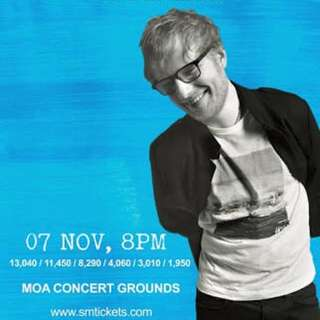 Ed Sheeran Manila Tickets