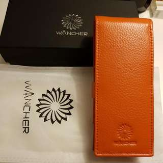 Wancher Leather Fountain Pen Case (For 3 FP)