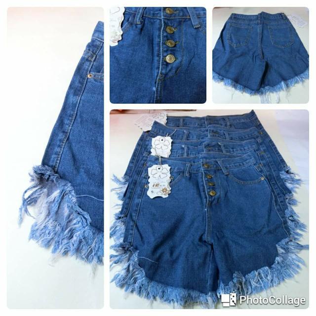 出清女生牛仔短褲原價290現價一件100共五款尺吋有S-XL數量有限