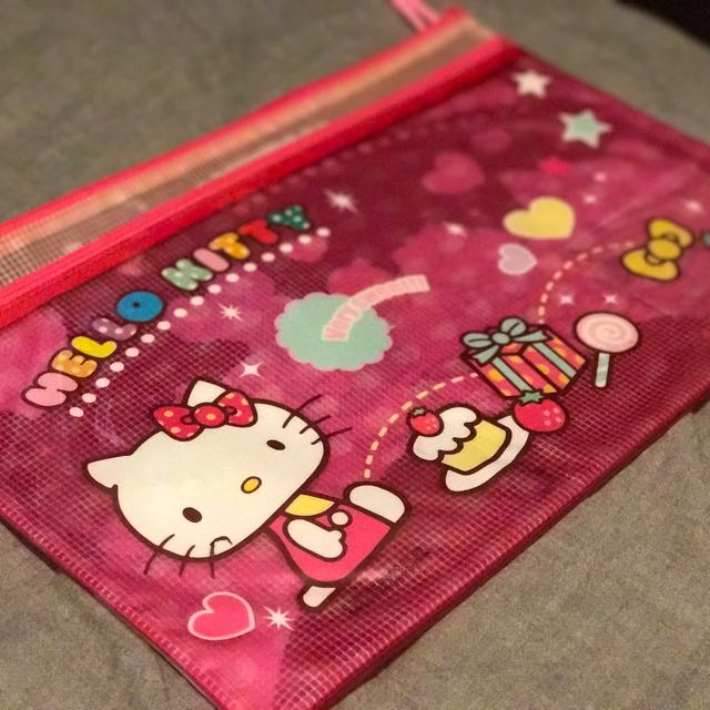[$5] 可愛Hello Kitty folder
