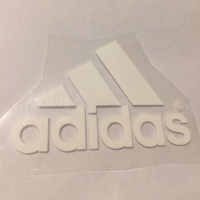 Adidas Logo Iron On 4.5cm Free Postage